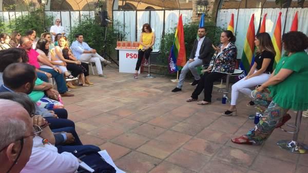Acto del PSOE de Huelva de los premios Pedro Zerolo.