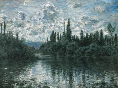 Claude Monet. Brazo del Sena cerca de Vétheuil, 1878