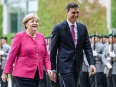 Sánchez y Merkel