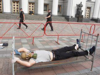 Protesta contra la tortura