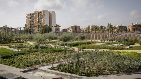 Primera fase del Parque Central de València