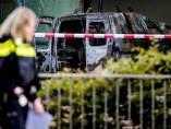 Estrellan un coche contra la sede del diario holandés 'De Telegraaf'