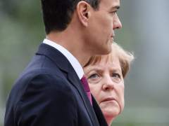 Merkel y Sánchez