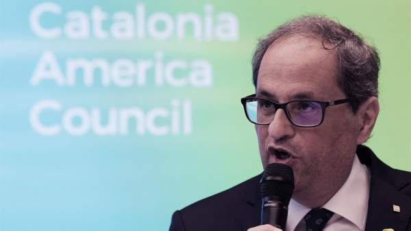 Quim Torra, en Washington