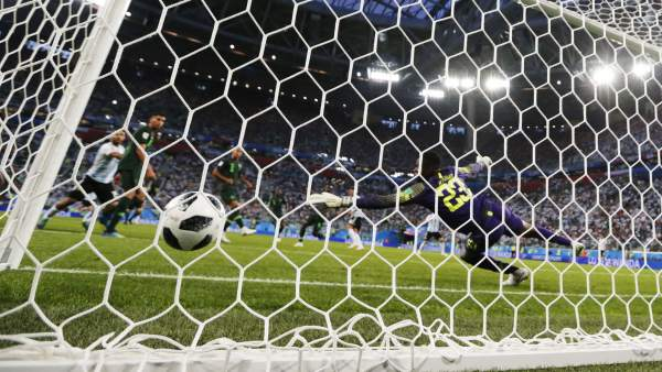 Gol en el Nigeria - Francia