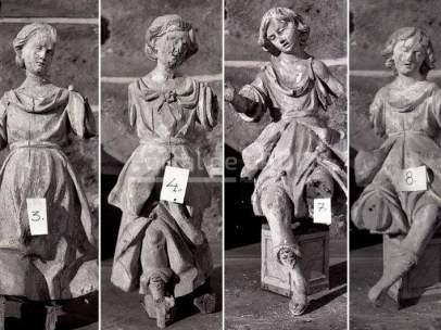 Cuatro ángeles de La Roldana