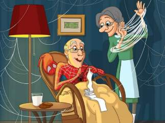 Spider-Man y Mary Jane