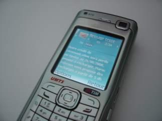 La comunicación era con SMS