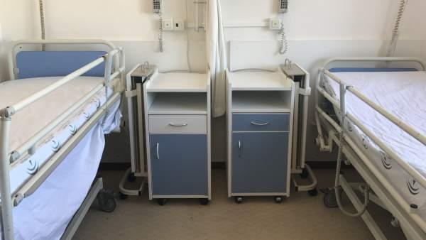 Habitación hospital camas