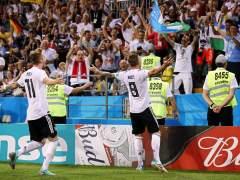 El gol de Kroos que dio la victoria a Alemania frente a Suecia