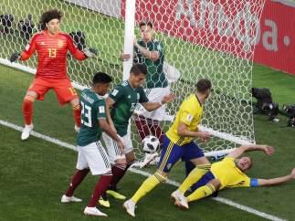 México - Suecia