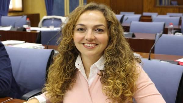 La parlamentaria de Ciudadanos Andalucía Marta Escrivá