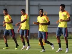 Entrenamiento selección colombiana