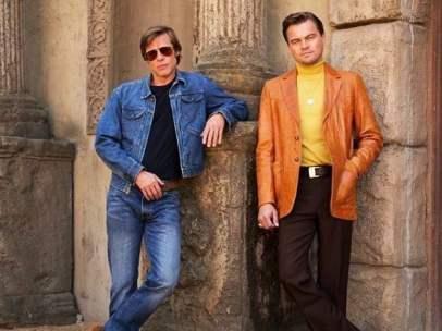 Brad Pitt y Leonardo DiCaprio en 'Once upon a time in Hollywood', de Quentin Tarantino.
