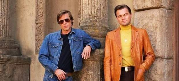 Brad Pitt y Leonardo DiCaprio en 'Once upon a time in Hollywood', de Quentin Tarantino.