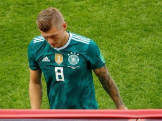 Toni Kroos, después de que Alemania cayera eliminada de Rusia 2018
