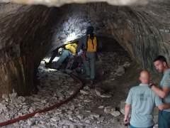 Espeleólogos atrapados en una gruta en Teruel