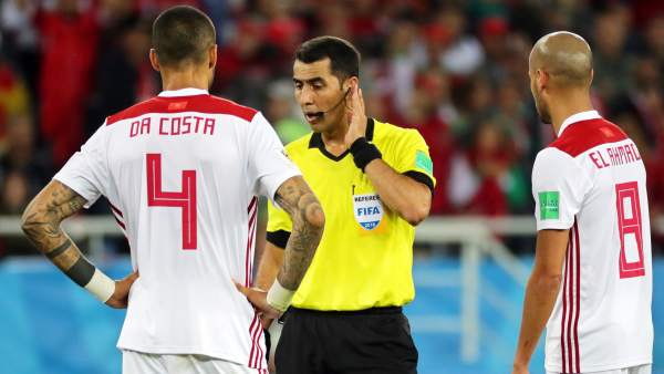 Marruecos se queja a la FIFA por los arbitrajes