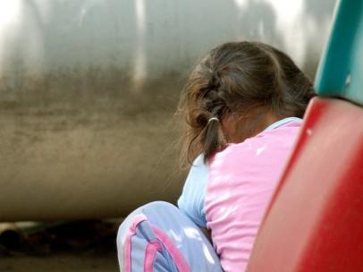 Imagen de archivo de una niña.
