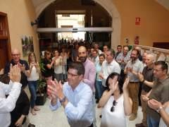 Llegada de Rodríguez al Ayuntamiento de Ontinyent