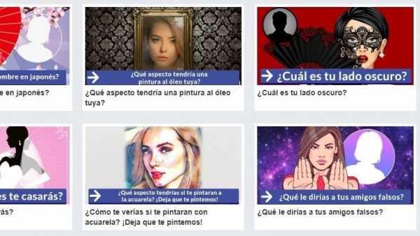 La 'app' externa de Facebook de tests de personalidad que expuso datos de los usuarios
