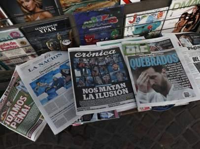 prensa deportiva de Argentina y Portugal
