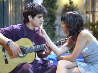 Fran Perea y Verónica Sánchez ('Los Serrano')