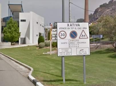 La localidad valenciana de Xátiva.