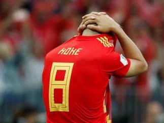 Koke falla en la tanda de penaltis