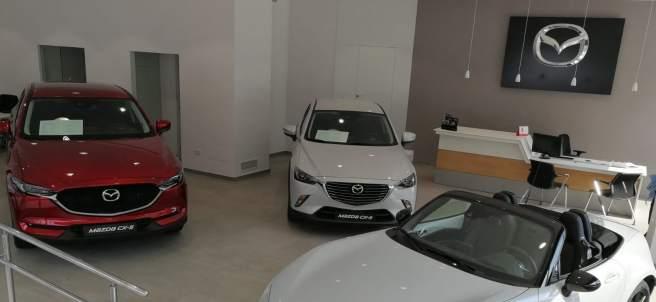 Concesionario de Mazda