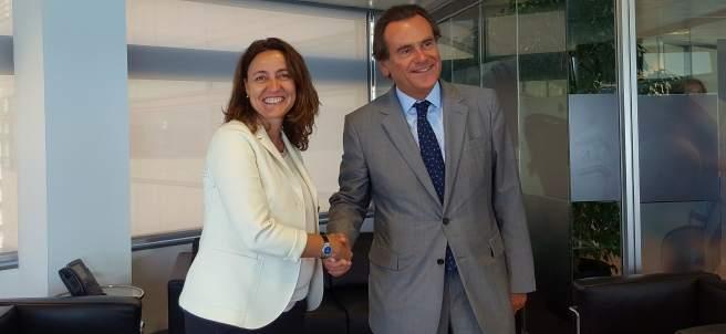 Mercè Conesa y Sixte Cambra.