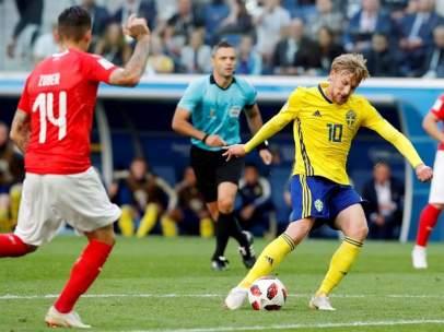 Suecia vs Suiza