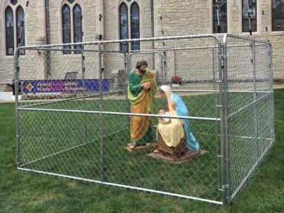 Jesús, María y José detenidos