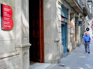 Espai de Consum Responsable de Barcelona en la ronda Sant Pau, 43-45.