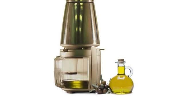 Prensa casera para hacer tu propio aceite de oliva.