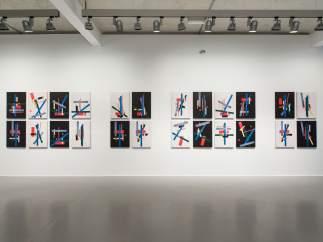 Las 'Variaciones a partir de Malevich' de José Manuel Ballester