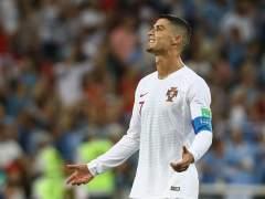 Cristiano Ronaldo, con la camiseta de Portugal durante el Mundial de Rusia.