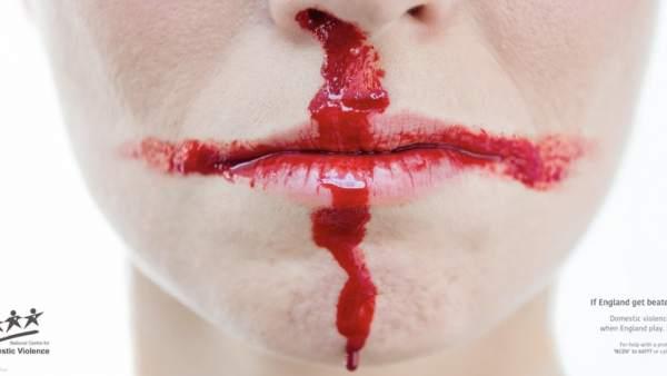 Campaña contra la violencia de género en el Mundial