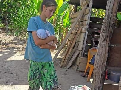 Liberan a Patricia Aguilar en la selva peruana