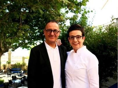Toni Balam y Carme Ruscalleda