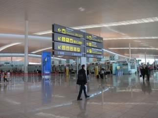 Hall del Aeropuerto de El Prat Terminal 1