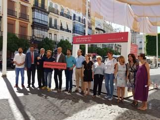 Inauguración de la campaña contra los pisos de alquiler ilegales