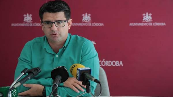 Pedro García en el Ayuntamiento