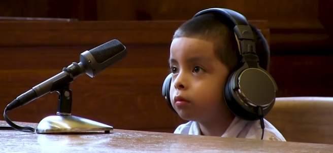 Niño ante el juez en EE UU