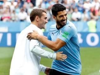 Griezmann y Suárez