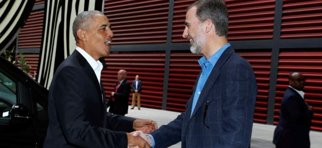 Obama y Felipe VI