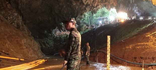 Rescate de los niños de Tailandia