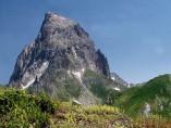 El pico de Ossau en los Pirineos.