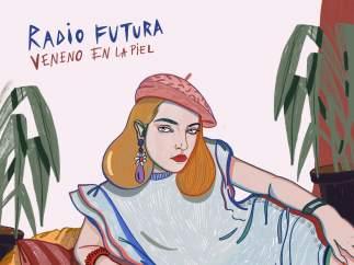 Portada de 'Veneno en la piel' de Radio Futura reinterpretada por Carla Fuentes