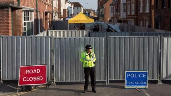 Pareja intoxicada por gas nerviso en el Reino Unido